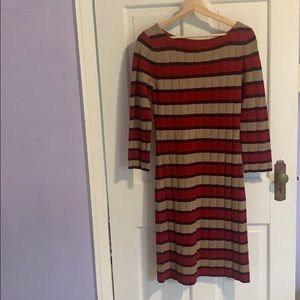EUC. Trina Turk Sweater Dress Size Small